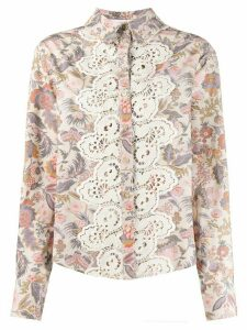 See By Chloé flower print shirt - Neutrals