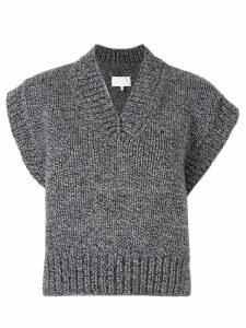 Maison Margiela knitted sweater - Blue