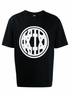 KTZ printed logo T-shirt - Black
