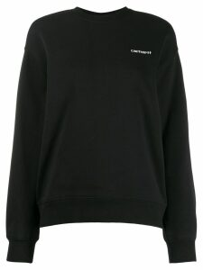 Carhartt WIP embroidered logo sweatshirt - Black