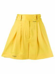 Styland pleated shorts - Yellow