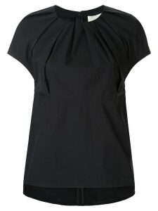 3.1 Phillip Lim ruched detail oversized blouse - Blue