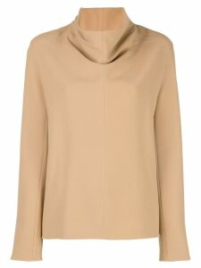 The Row Bora sweatshirt - Brown