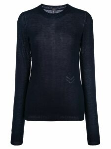 Adam Lippes fine knit jumper - Blue