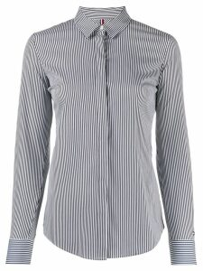 Tommy Hilfiger long sleeved striped shirt - Blue