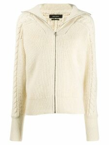Isabel Marant Lenz cable knit cardigan - White
