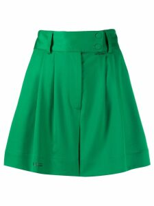 Styland pleated shorts - Green
