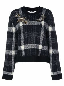 Veronica Beard bead-embellished jumper - Black