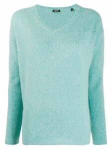 Aspesi V-neck jumper - Blue