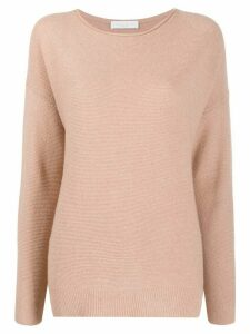 Fabiana Filippi metallic stitched jumper - NEUTRALS