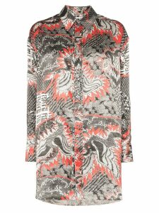 Rave Review electra dragon print shirt - PRINTED