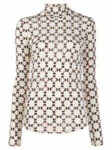 Isabel Marant Joyela top - Neutrals