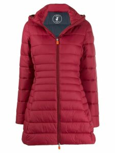 Save The Duck padded hooded coat - Red
