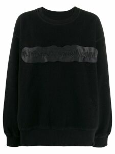 Mm6 Maison Margiela logo jumper - Black