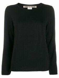 Comme Des Garçons relaxed-fit jumper - Black