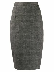 Styland fitted pencil skirt - Black
