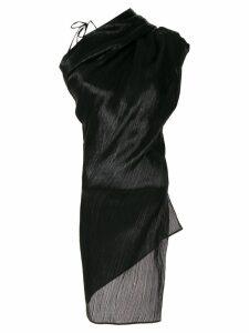 Roland Mouret Lyan Lame blouse - Black