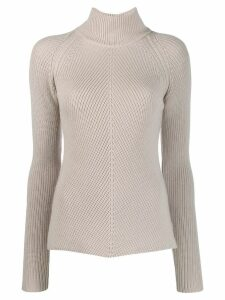 Gentry Portofino turtleneck sweater - NEUTRALS