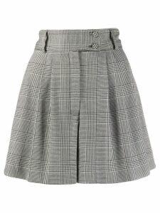 Styland Glen check shorts - Black
