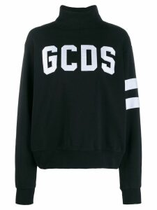 Gcds turtleneck logo-appliqué sweatshirt - Black