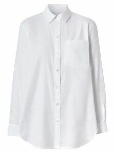 Burberry monogram shirt - White