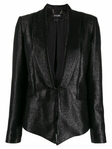 Styland chain fastened blazer - Black