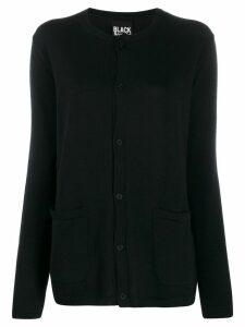 Yohji Yamamoto button-up cardigan - Black