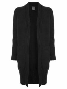 Lorena Antoniazzi open knit cardigan - Black
