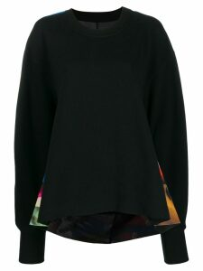 Maison Margiela graphic print jumper - Black