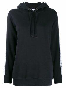 Calvin Klein Jeans logo tape hoodie - Black