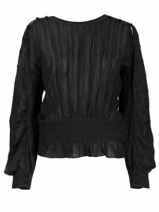 Isabel Marant Étoile pleated blouse - Black