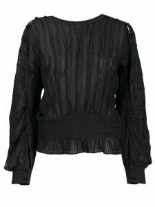 Isabel Marant Étoile pleated blouse - Black