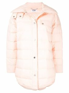 LU MEI Herne Hill shirt jacket3 - PINK