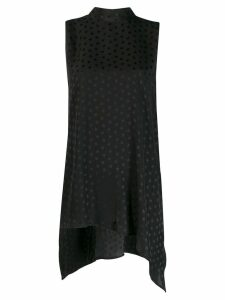 P.A.R.O.S.H. star print sleeveless blouse - Black