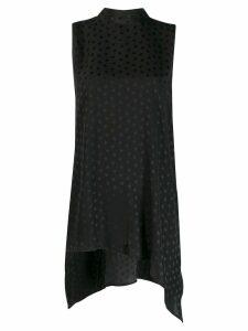 P.A.R.O.S.H. star print sleeveless blouse - Black