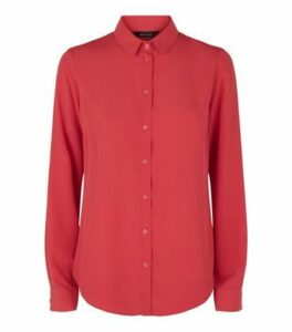 Red Long Sleeve Shirt New Look