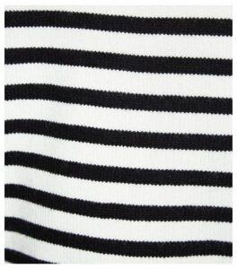 White Stripe Tie Back Jumper New Look