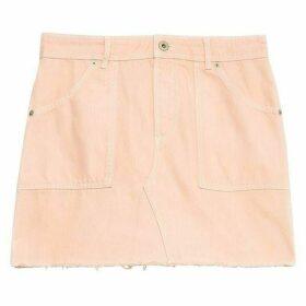 Jack Wills Boughton Classic Denim Skirt - Pink