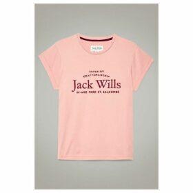 Jack Wills Forstal Boyfriend T Shirt