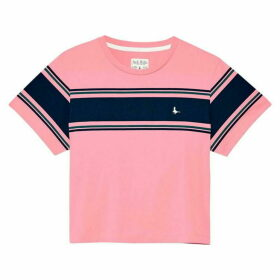 Jack Wills Milsom Cropped T Shirt - Pink