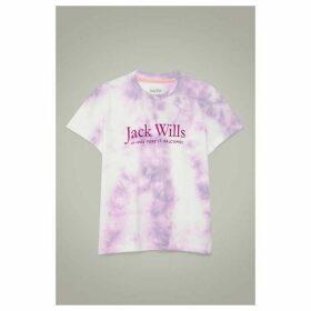 Jack Wills Cambiel Tie Dye T Shirt