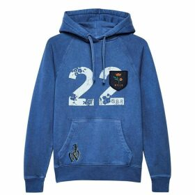 Jack Wills Redhill Pop Over Hoodie - Blue