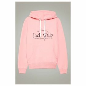 Jack Wills Hunston Back Graphic Hoodie
