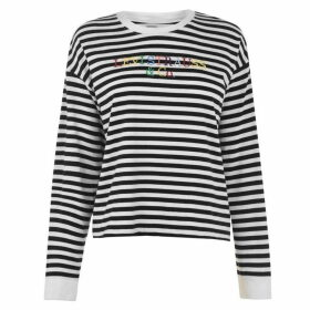 Levis Long Sleeve T Shirt - Stripe/Multi