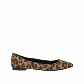 Lanas Ballet Pumps in Leopard Print
