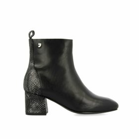 Greiz Heeled Leather Boots