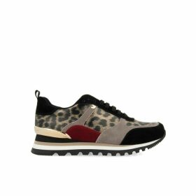Steinsel Trainers in Animal Print