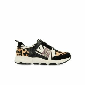Boras Trainers in Animal Print