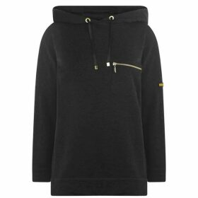 Barbour International Nurburg Over layer Hooded Sweatshirt