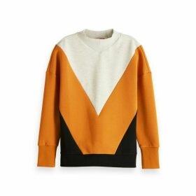 Cotton Mix Graphic Sweatshirt